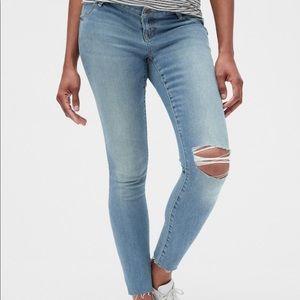 Gap Maternity True Skinny Jeans Size 6/28R